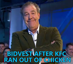 Memes Kfc - bidvest delivered chicken for kfc in the uk until dhl took over