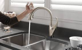 best touchless kitchen faucet 2018 s best touchless faucets reviews buying guide