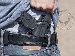 Most Comfortable Concealed Holster How To Wear And Adjust A Concealed Carry Iwb Holster Alien Gear