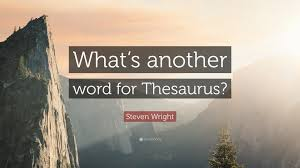 steven wright quote u201cwhat u0027s another word for thesaurus u201d 10
