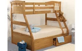 Pollo Triple Bunk Bed - Triple bunk bed wooden
