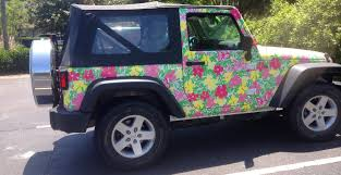 hennessey jeep wrangler meet the extremely rare 75 total jeep wrangler lilly pulitzer