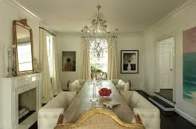 Mirror Over Dining Room Table - long dining table eclectic dining room womanista