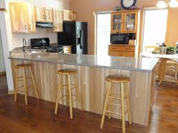 Kitchens With Hickory Cabinets Photos Affordable Cabinet Refacing Nu Look Kitchens