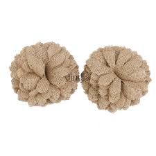 Shabby Chic Wedding Accessories by Details About 6pcs Rustic Country Shabby Chic Burlap Hessian