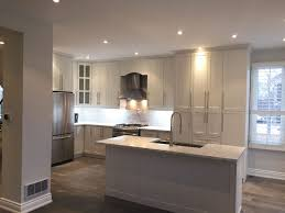 affordable kitchen cabinets renovation in richmond hill orange