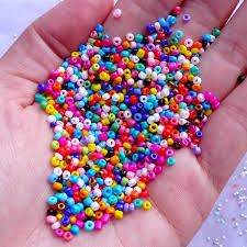 craft bracelet beads images Colorful seed beads tiny glass beads in 2mm necklace jpg
