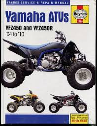 haynes yamaha yfz450 yfz450r 2004 2010 service repair manual