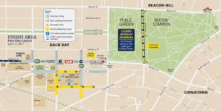 New York City Marathon Map by Event Maps Boston Athletic Association Baa Org