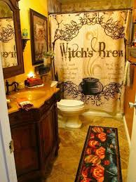 Witch Decorating Ideas I Like The Shower Curtain Halloween Pinterest Halloween