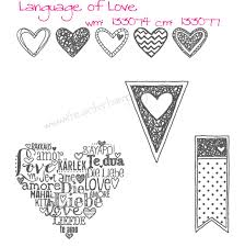 stampin u0027 up u0027s language of love stamp set very overlooked stamp