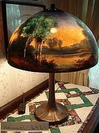 Antique Handel Desk Lamp Craftsman Antiques Gustav Stickley Furniture Handel Lamps