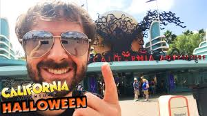 disney california adventure halloween new decorations youtube