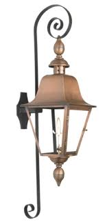 outdoor light mounting bracket the coppersmith ps premium scroll wall mount bracket for gas lights