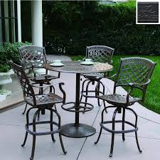 Bar Set Patio Furniture Exciting Bar Height Outdoor Dining Table Andhairs Patiohair Sets
