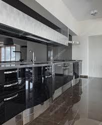 new modern kitchen modern kitchen interior u2014 stock photo yegorp 69300189