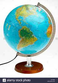 Map Of Equator In South America by World Whole Globe Illuminated Map Plastic And Translucent