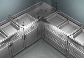 Ikea Kitchen Base Cabinets Clever Design   Chic Uses Of Shallow - Kitchen cabinets base units