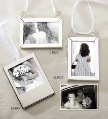 picture frame hanging ornament theme wedding favors