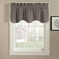 Red And White Curtains For Kitchen Kitchen Design Ideas Kitchen Window Valance Valances Modern Image