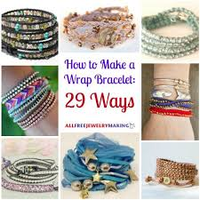 how to make a wrap bracelet 42 ways bead patterns learning and