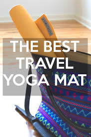 The best travel yoga mat jade voyager yogabycandace