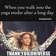 Thank God Meme - float universe via yogimemes lol thankyou universe yoga