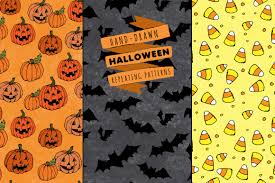 halloween background repeating halloween pattern seamless pattern halloween background