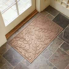 Bungalow Flooring Microfibres Kitchen Rug Bungalow Flooring Indoor Outdoor Water Guard Boxwood Leaf Mat