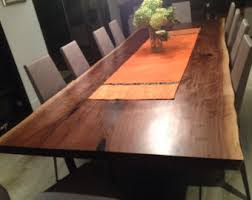 Walnut Live Edge Table by Walnut Live Edge Dining Table Conference Table Harvest