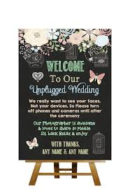 wedding quotes signs the 25 best unplugged wedding sign ideas on unplugged