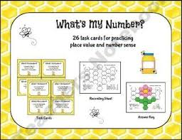 place value mystery number 13 best place value 2nd grade images on place values