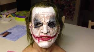 silicone mask halloween my custom silicone joker mask youtube