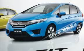 honda car fit alleged photos of generation honda fit appear