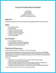 Accounting Specialist Resume Accounts Payable Description Resume 28 Images Accounting Clerk