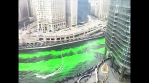 timelapse of the chicago river dyed green 3 12 2011 youtube