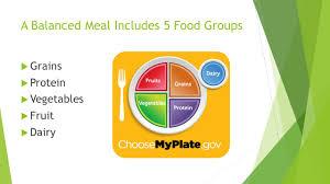 building balanced meals ppt download