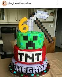 de 198 bästa minecraft cake u0026 party bilderna på pinterest