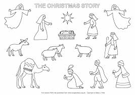to print story coloring pages for children archives best page free