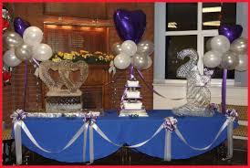 25th wedding anniversary party ideas beautiful 25th wedding anniversary decorations collection of