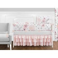 Jojo Crib Bedding Sweet Jojo Designs Watercolor Floral 9 Crib Bedding Set