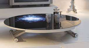 Space Coffee Table Clever Coffee Table From Ozzio Space Saving Tables