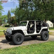 jeep matte black jeep wrangler xd series xd807 strike wheels matte black