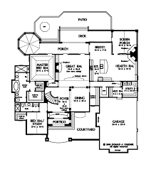 european floor plans european style house plan 5 beds 4 baths 4221 sq ft plan 929