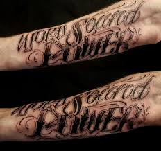 Mens Forearm Tattoos Writing Ideas 14 Nationtrendz Com 37 Best Forearm Lettering Tattoos Images On Lyric