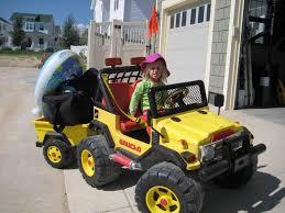 barbie jeep power wheels 90s modified power wheels trailers