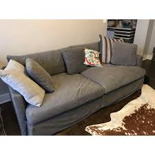 crate and barrel lounge sofa slipcover crate barrel lounge sofa with washable slipcovers chairish also