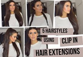hair extensions styles how to add lullabellz clip in extensions to 5 hair styles eleise