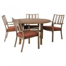Round Patio Furniture Set by Aluminum Patio Furniture Sets Foter