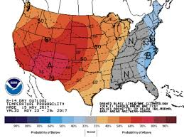 thanksgiving forecast blast of cold air to invade east abc2news